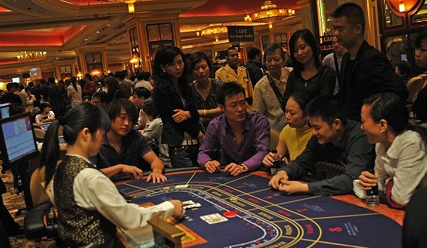 Las Vegas | Chinese tourists in America