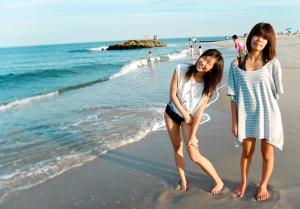 Chinese tourists beach Shanghai Travelers Club