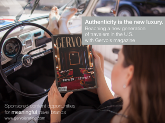 GERVOIS magazine Advertising and sponsored content opportunities