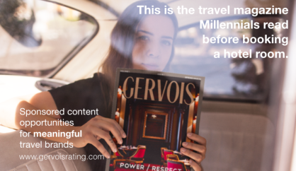 Gervois magazine - The new travel magazine for millennials travelers in the United States