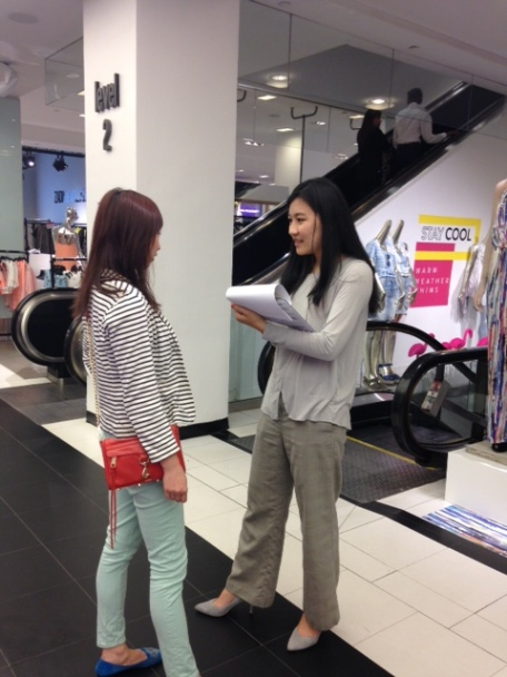 Bloomingdale's Interviews with Chinese customers -Shanghai Travelers Club May 2015 -3