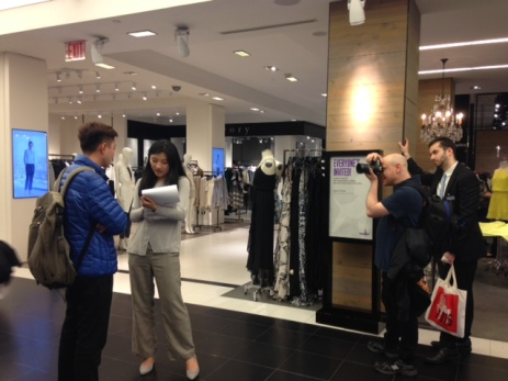 Bloomingdale's Interviews with Chinese customers -Shanghai Travelers Club May 2015 -4