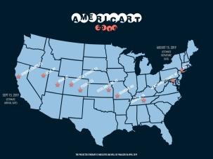 #Americart2019 Itinerary - March 2019